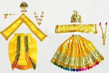Lord Krishna Dresses Poshak